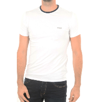 TEE-SHIRT GUESS M74I71 BLANC MANCHES COURTES HOMME