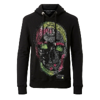 PHILIPP PLEIN SWEAT A CAPUCHE MJB0311 JUST A DREAM
