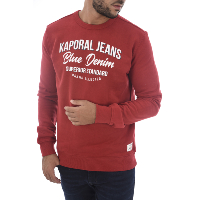 KAPORAL SWEATS FUOL ROUGE HOMME