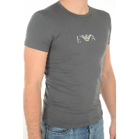 EMPORIO ARMANI TEE-SHIRT STRETCH 111035 GRIS HOMME