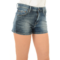 PEPE JEANS MINI SHORT DENIM STRETCH PATCHY PL800688