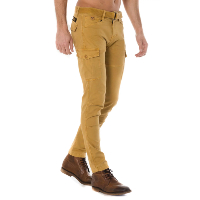 KAPORAL PANTALON MULTIPOCHES SLIM STRETCH KALI JAUNE
