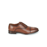 Redskins Richelieu En Cuir Marron Bossi