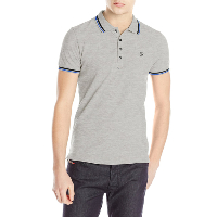 DIESEL POLO T-OIN GRIS MANCHES COURTES HOMME