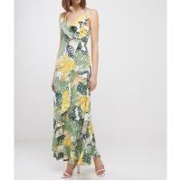 MOLLY BRACKEN LA70BE20 - ROBE LONGUE IMPRIMES TROPICAL FEMME